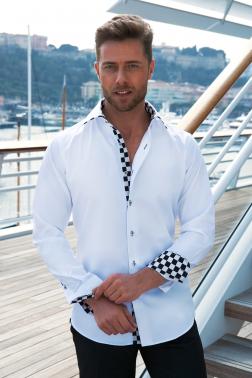 Baronet Hemd mit Kentkragen Slim-Fit